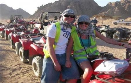 Safari en el desierto  por el Buggy