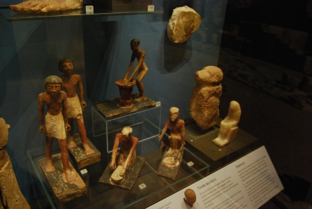 Small Models of Servants from Old Kingdom
