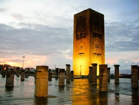 The Hassan Tower, Rabat