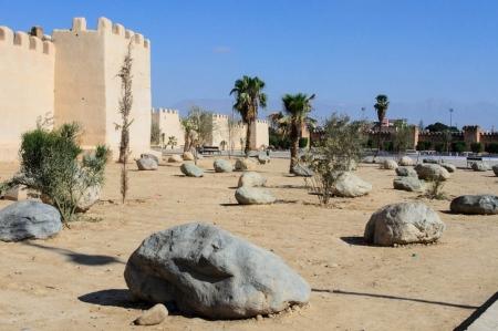 La ciudad de Taroudant, Marruecos.
