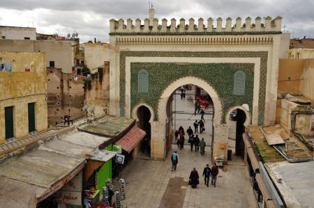 Bab-Boujloud-Gate