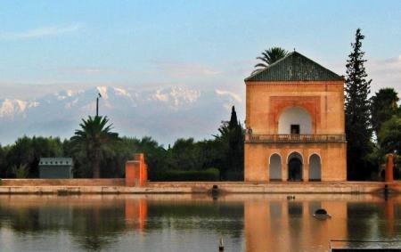 Giardini della Menara a Marrakech