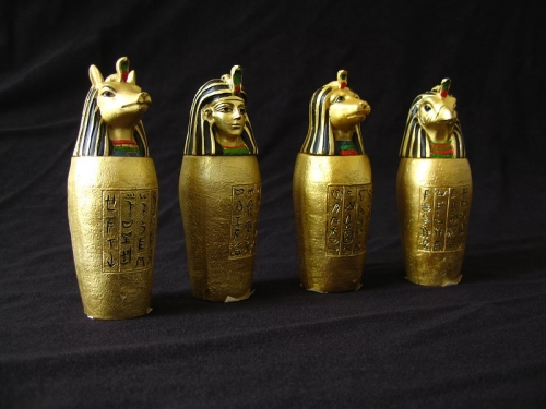 Canopic Jars, Egypt history