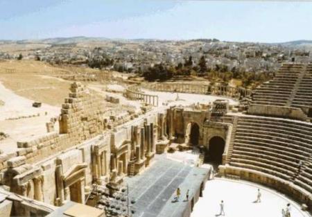 Römisches Amphitheater in Amman