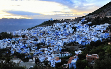 Amazing view of Chefchaouen