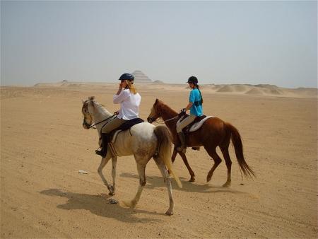 Horse Riding Tour Around the Pyramids