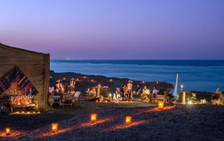 Bedouin Tent on The Beach
