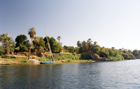 Elephantine Island on The Nile