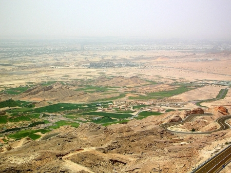 Panoramic View from Jebel Hafeet