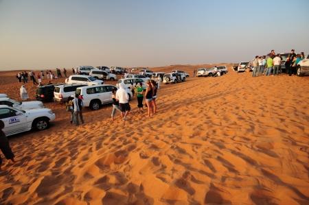 Safari por el desierto, Dubai