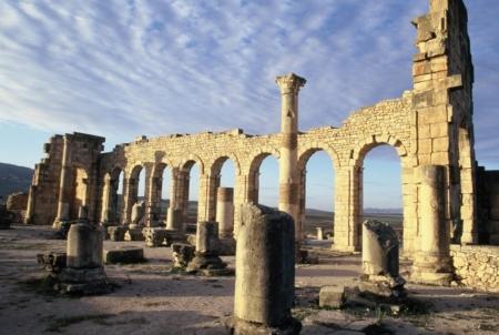 el volubilis en Meknes