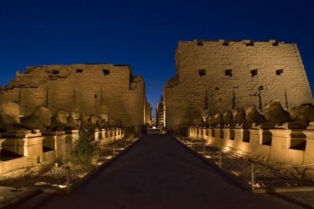 Karnak Temple by Night