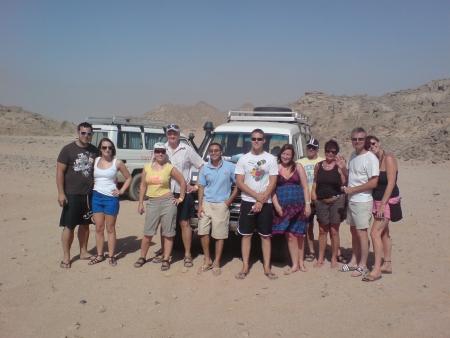 Desert Safari, Hurghada