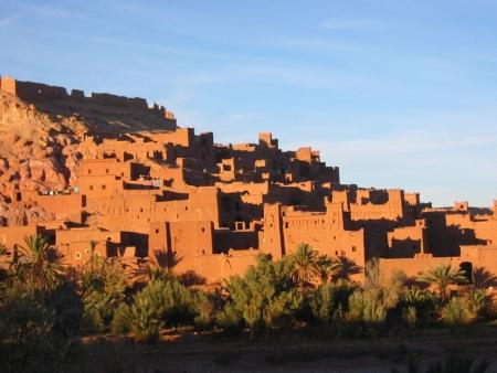 Ait Ben Haddou, Route pour Ouarzazate