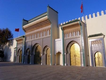 El palacio Real, Rabat.