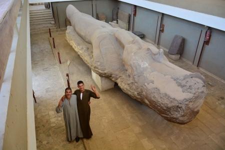 Colosso di Ramesses II, Menfi