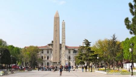 Plaza del Hipódromo Romano. Istambul