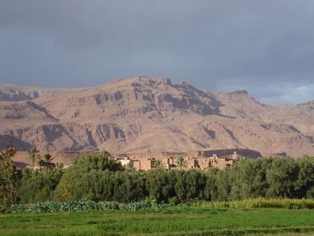 Città di Tinghir, Marocco