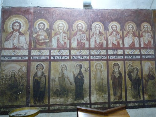 Coptic Icon, Monasteries of Wadi El Natroun