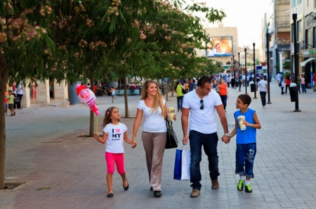 Amman Family Shopping at Wakalat Street