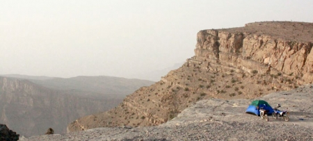 Canyons in Oman