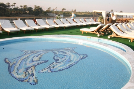 MS Nile Dolphin Pool and Sundeck