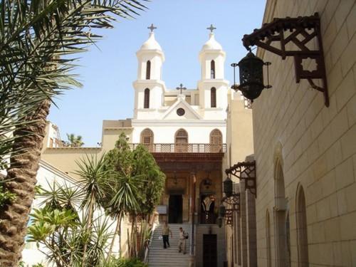 オールドカイロのコプト教会