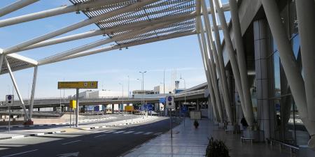 O aeroporto do Cairo