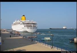 Desde el Puerto de Port said