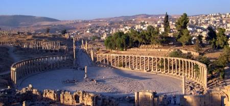 Jerash: la città romana