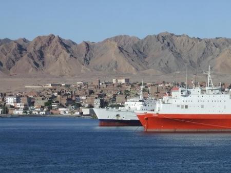 Desde el Puerto de Safaga