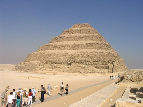 The Step Pyramid, Sakkara