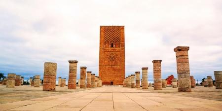 Pontos turísticos em Rabat