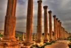 The Cardo Colonnaded Street of Jerash Jordan