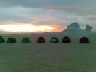 Campsite in Kharga Oasis