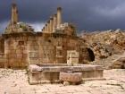 The Cathedral Atrium of Jerash Jordan