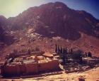 Mosteiro de Santa Catarina saindo de Sharm