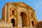 Hadrian's Arch of Jerash Jordan