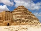 Piramidi Giza e Saqqara dal Porto di Port Said