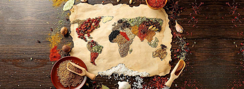 Gastronomia Internacional: Recetas del Medio Oriente, América Latina, Europa y Asia