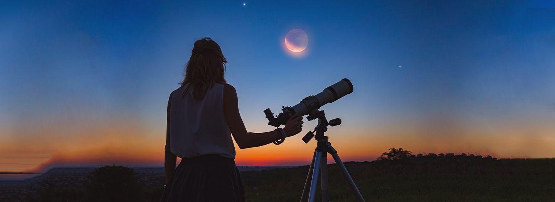 stargazing at the desert
