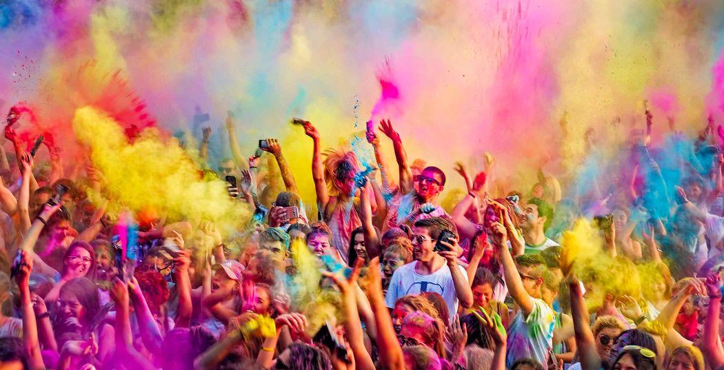 Holi Festival Festival De Colores
