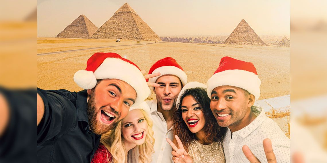 How to celebrate Christmas and New Year in Egypt